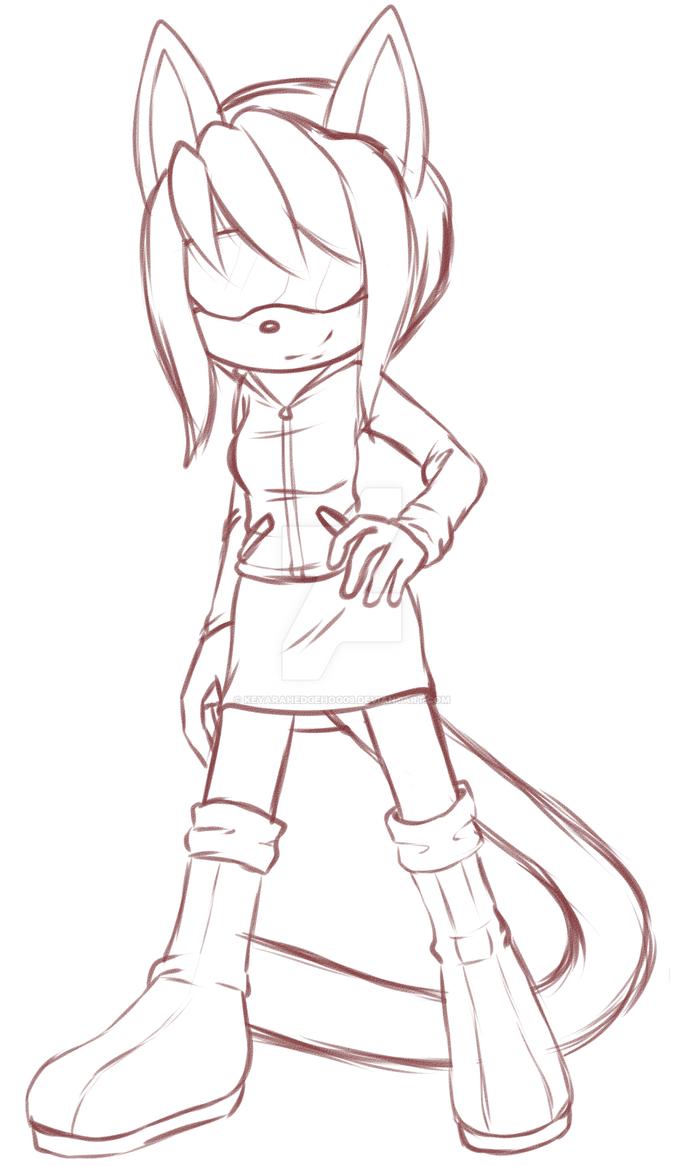 Sketchy sketch by KeyaraHedgehog09