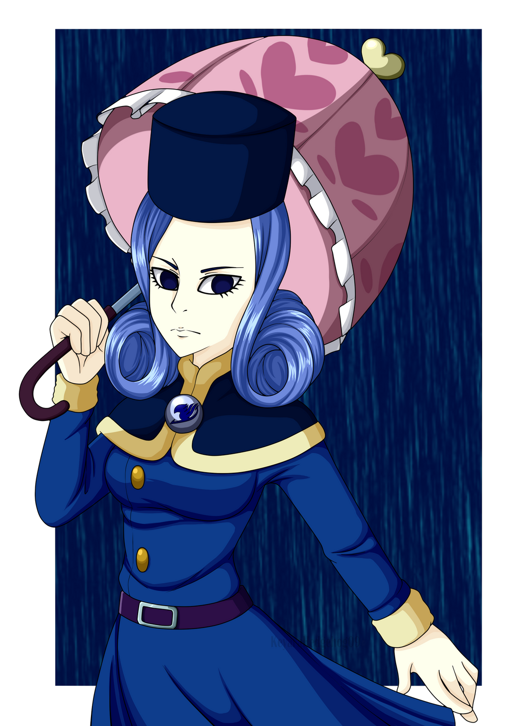 Juvia the rainwoman  by KeyaraHedgehog09