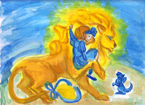 Dorothy-and-Lion