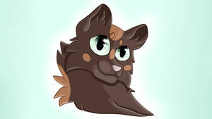 Blotchedtail (Cell shaded Headshot)