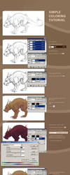 Quick coloring tutorial by Abuze