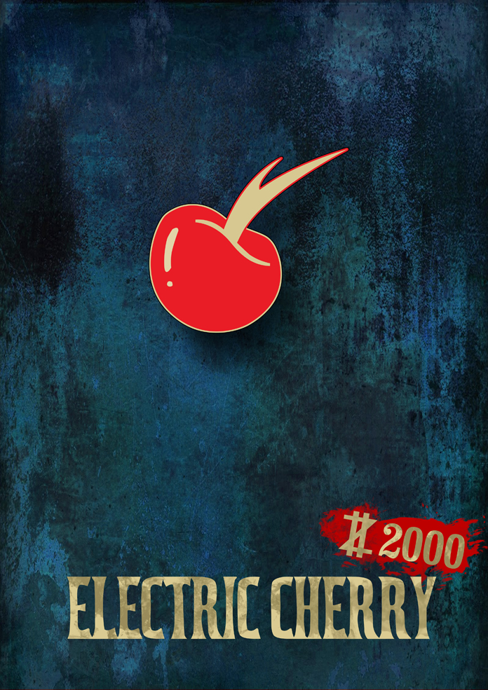Vulture Logo Electric Cherry by Sun...