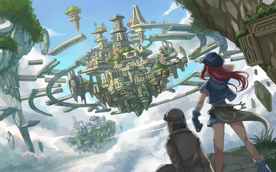 Floating Island by nori942