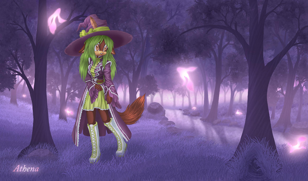++Violet Forest++ by Athena-Tivnan