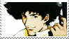 Spike Spiegel stamp by Athena-Tivnan