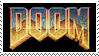Doom Video Game Stamp by Athena-Tivnan