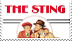 The Sting film (1973) stamp by Athena-Tivnan