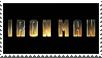 Iron Man film stamp