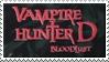 Vampire Hunter D bloodlust Stamp by Athena-Tivnan