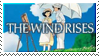The Wind Rises Stamp