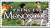 Princess Mononoke Stamp by Athena-Tivnan