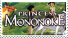 Princess Mononoke Stamp by Athena-Tivnan