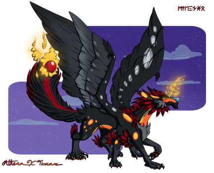 Nightrus (Legendary houndhawk)