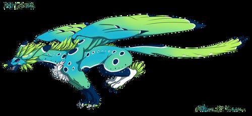 Houndhawk (Skylogryph) - Seagrass