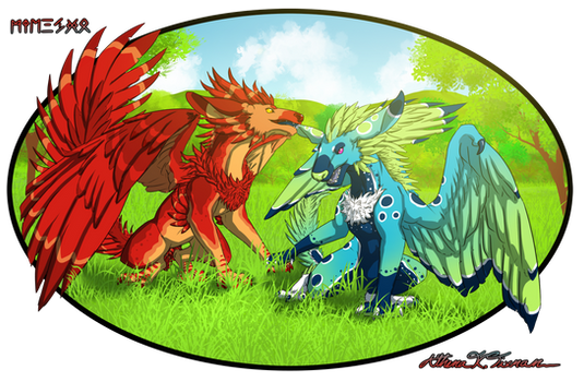 Skylogryphs, Pyrofreen and Seagrass