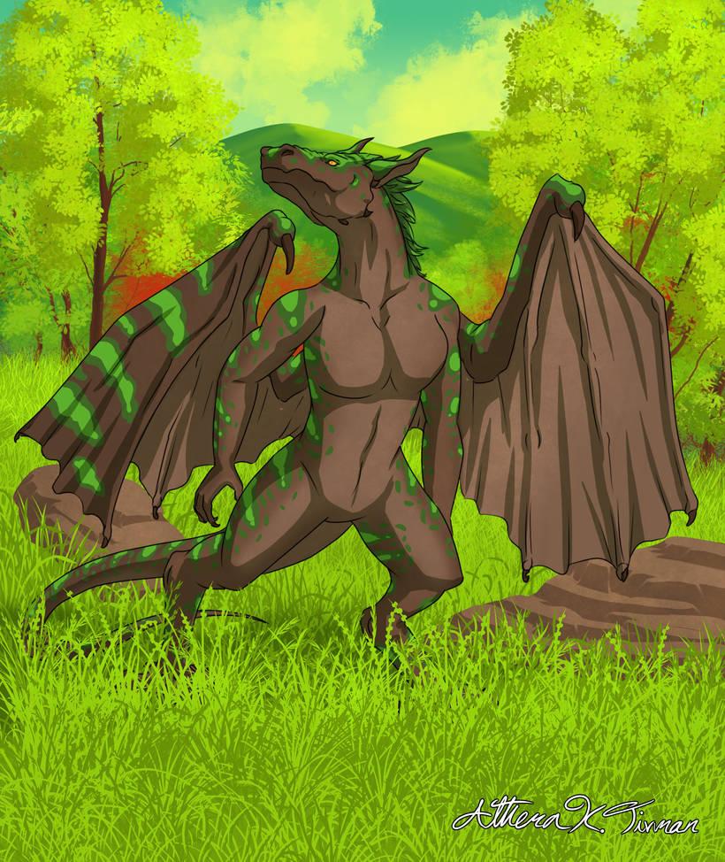 NewEarth: female dragon
