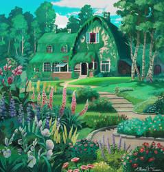 Studio Ghibli: Kiki's house