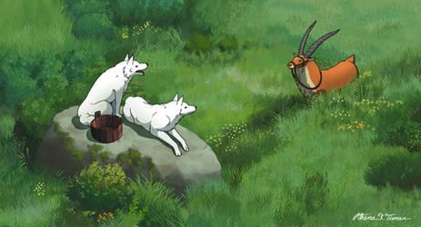 Studio Ghibli: Princess Mononoke