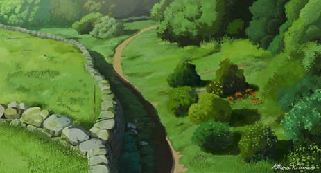 Princess Mononoke: Opening scene