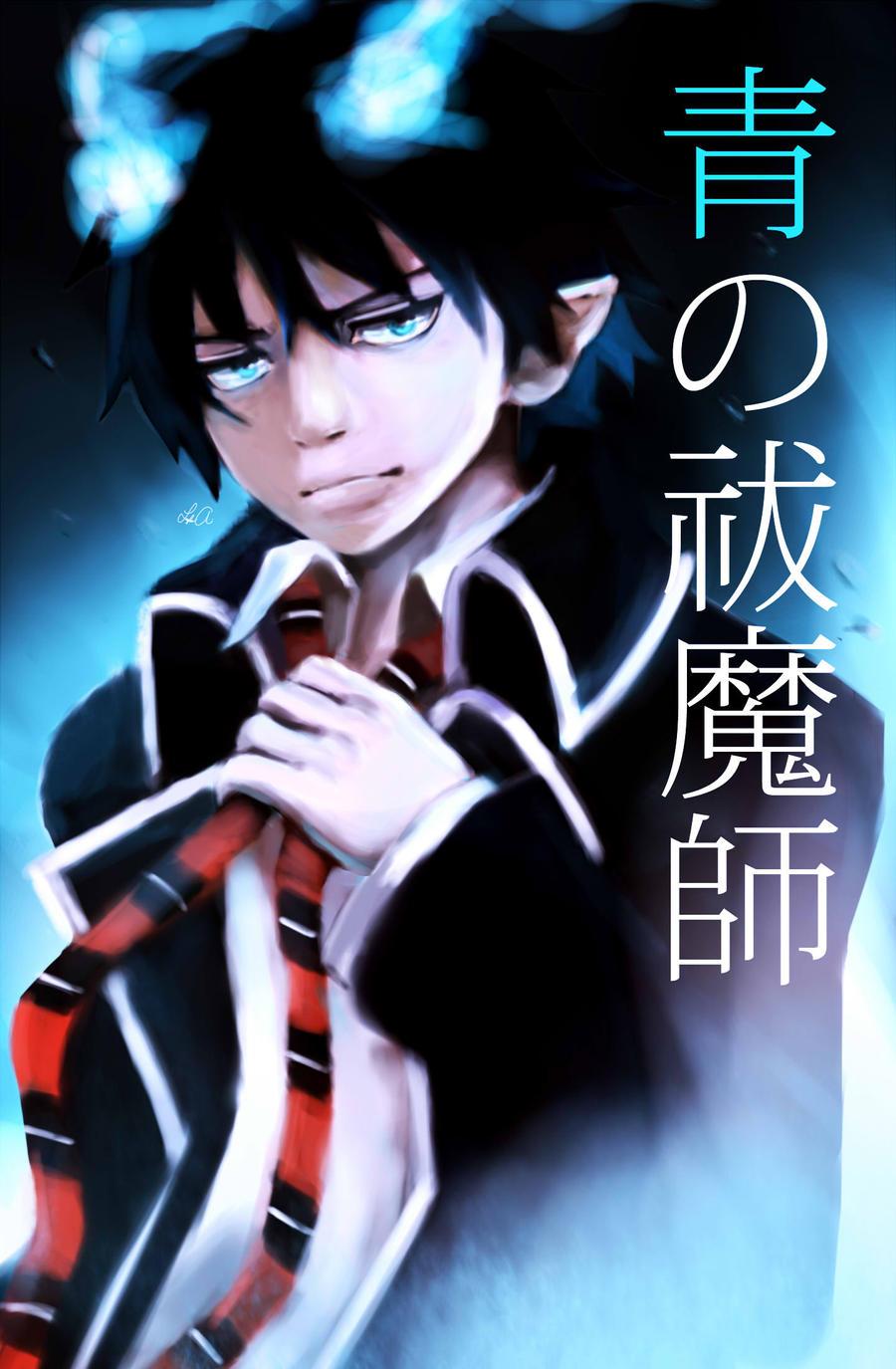 Rin Okumura (blue exorcist) by ukalayla