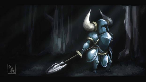Shovel Knight in Shining Armor