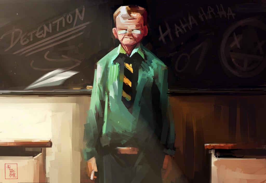 Detention by ukalayla