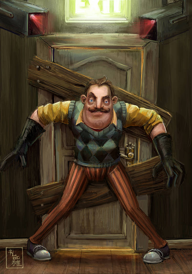 Hello, Neighbor! - Do Not Enter