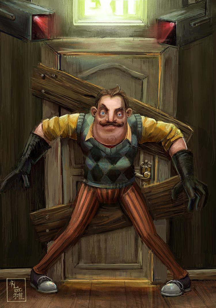 Hello, Neighbor! - Do Not Enter by ukalayla