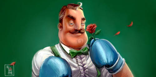 Hello, Neighbor! - Like Gentleman by ukalayla
