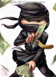 Clickx - Maximus the Marketing Ninja by ukalayla