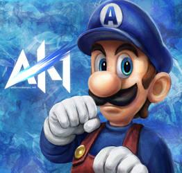 andersonkenya1 - Super Luigi by ukalayla