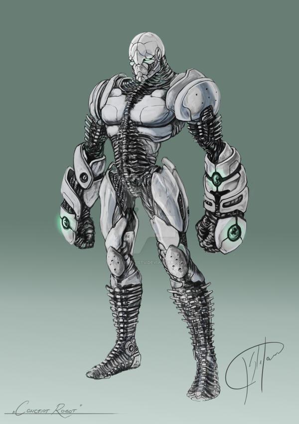Robot by StefanTistu