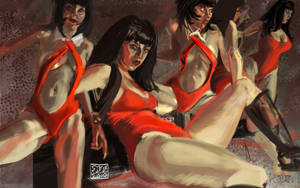 Vampirella Figure Studies by curcuru