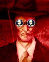 J. Robert Oppenheimer by Hirnverbrannt