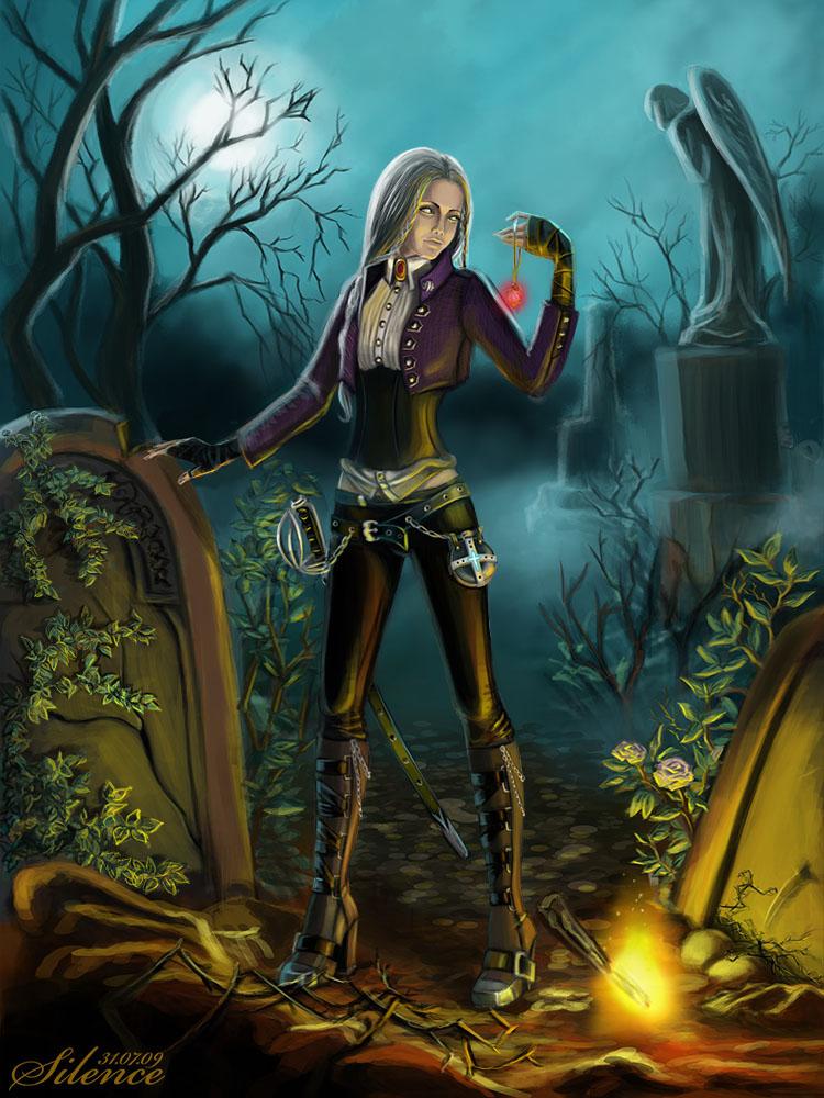 Huntress by Tashati