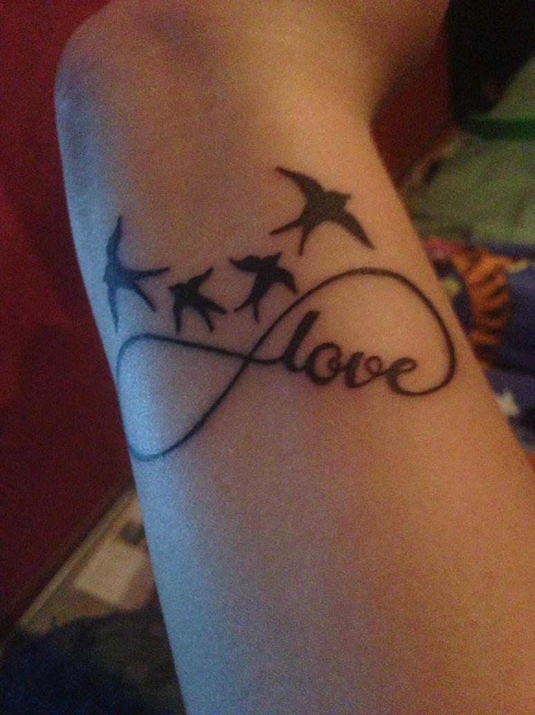 My third tattoo by lightlady2