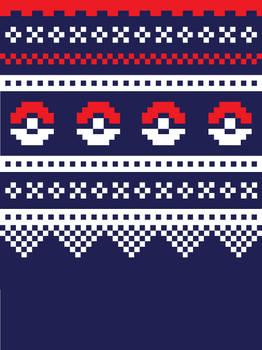 Norwegian sweater pokeball edition
