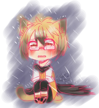 [Servamp] smol Neko Hyde by KittyHarmony