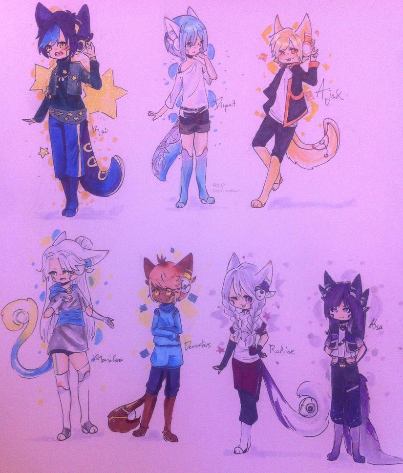 [R] Aerolin batch 1 by KittyHarmony