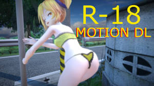 [mmd r-18] Motion Dl   Sex in the tube
