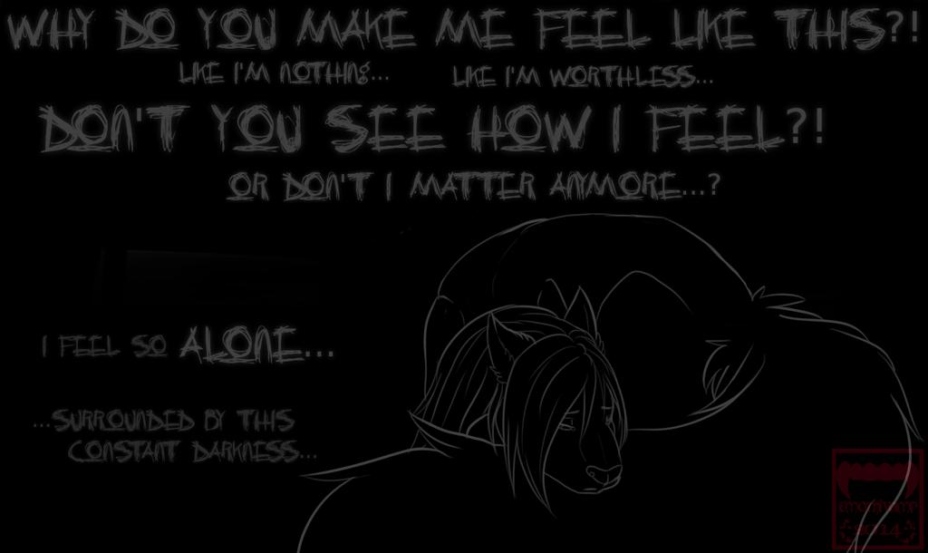 Depressed wolf drawing - photo#41
