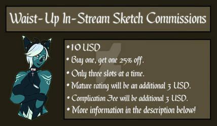 10 USD In-Stream Sketches: OFFLINE