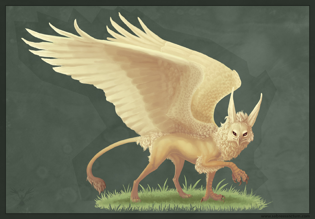 Fancy Gryphon by Firequill
