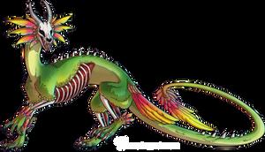 Boneparrot Dragon