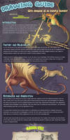 Drawing Guide With Dragons