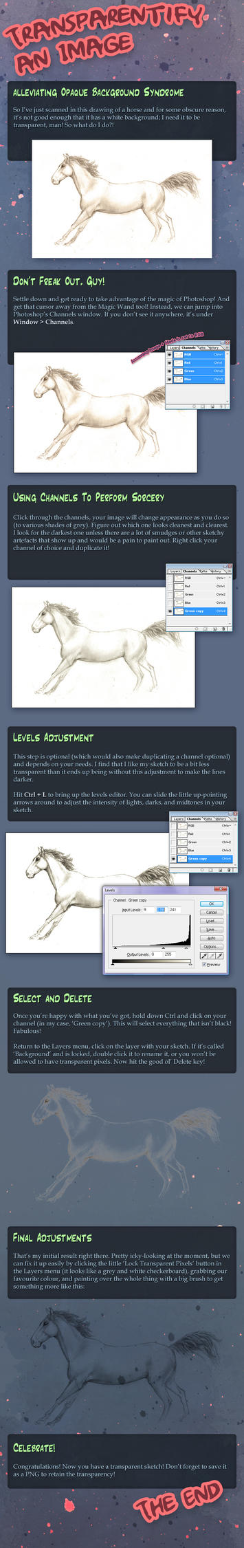 Transparentify White Backgrounds by Firequill