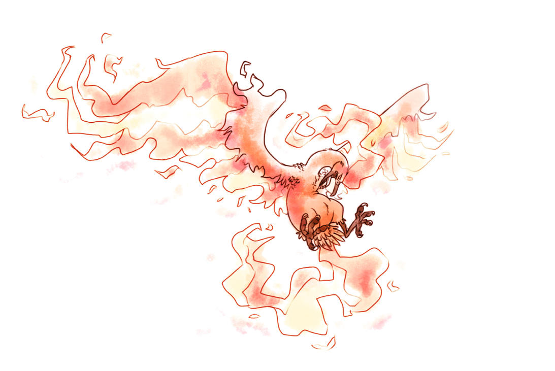 Moltres by Firequill