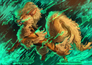 Arcanine by Firequill