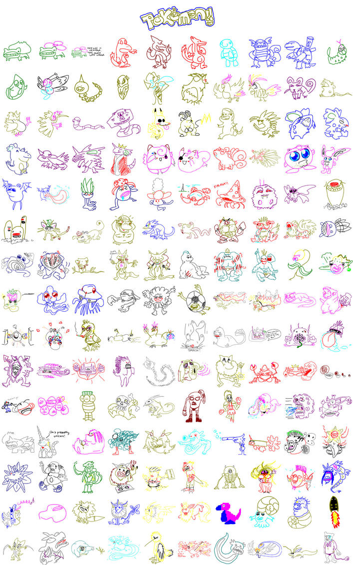 Pokemon 150 By Firequill On Deviantart