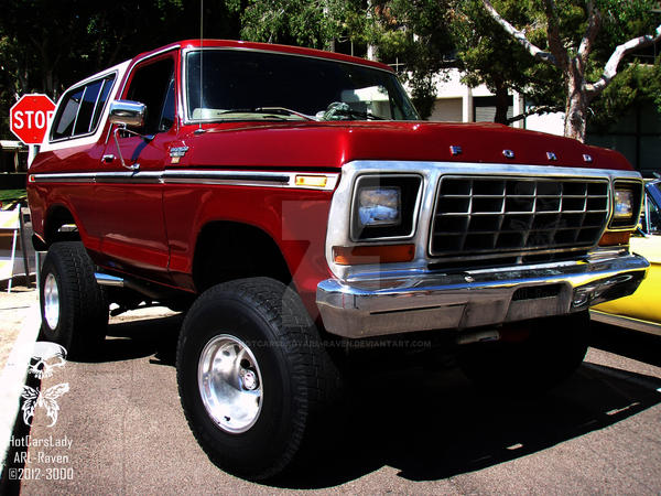 FORD BRONCO by HotCarsLadyARL-Raven